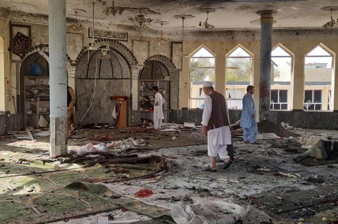 افغانستان ۾ مسجد اندر بم ڌماڪو