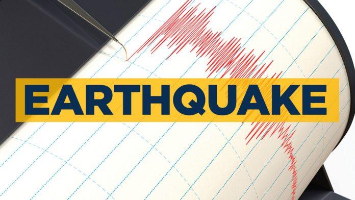 جزيرن ۾ 6.7 جي شدت جو زلزلو